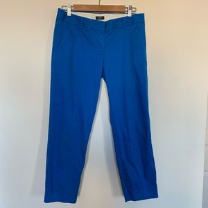 J Crew City Fit Chinos Size 4 Stretch